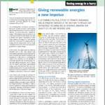Thematic dossier n°10 on Saving energy in a hurry – Autumn 2005