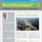 Thematic dossier n°28 on Regions tackle natural disasters Summer 2011