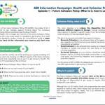 AER Information Campaign Episode 1: Health and Cohesion Policy