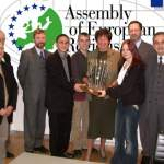 The new Challenge for democraty: regions engaging citizens in a changing Europe in poznan 2003