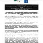 AER-UNDP Limoges Declaration