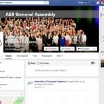 The AER Facebooks  AER expands its social media presence
