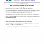 Resolution on Bovine Spongiform Encephalopathy (BSE)