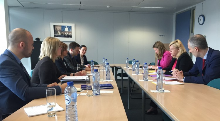 Meeting Commissioner Cretu