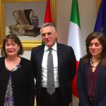AER reacquainting with Italian regions