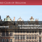 The Harvard Club of Belgium welcomes AER's president