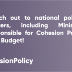 #CohesionPolicyTips - Reach out to national policy-makers
