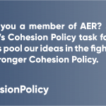 #CohesionPolicyTips - Member of AER? Join the AER task force on Cohesion Policy