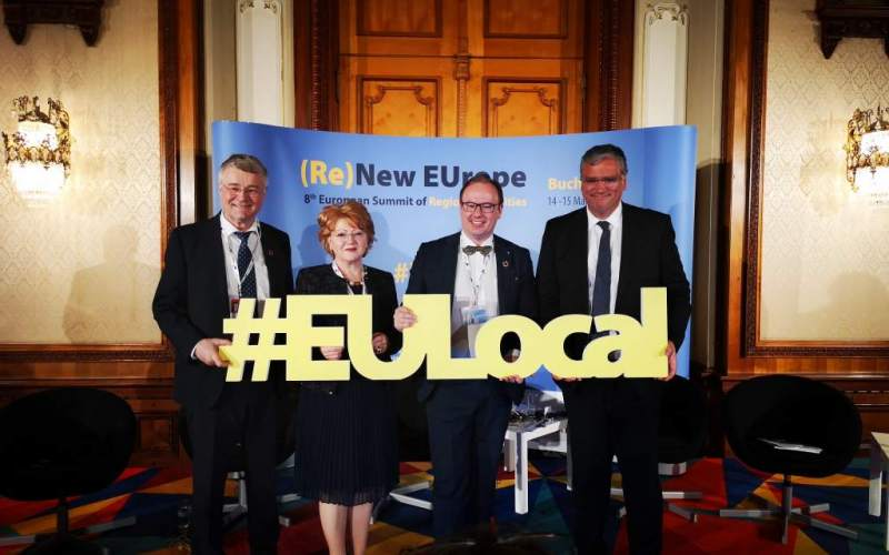 Jam-packed EU Regions & Cities Summit in Bucharest