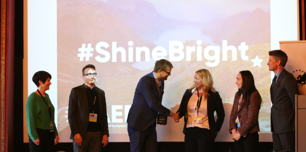 #Shinebright Oppland for promoting the 2030 Agenda