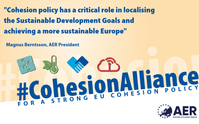 """Cohesion Alliance One Year On: """"Together for a strong Cohesion policy 2021-2027"""""""