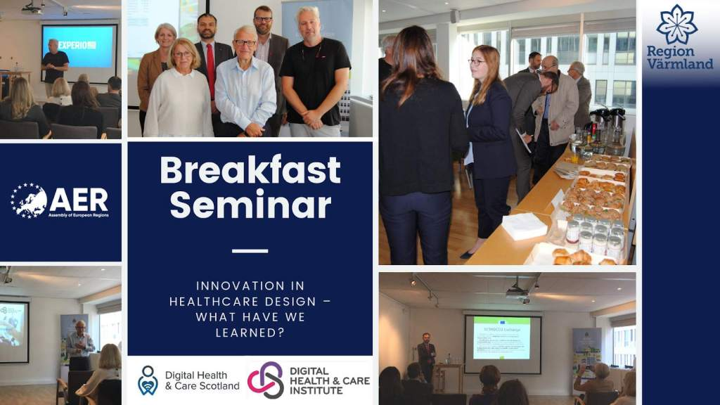 An Injection of Reality at AER Breakfast Seminar on Digital and Healthcare Innovation