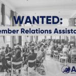 Internship: Member Relations