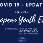 POSTPONED - European Youth Event 2020