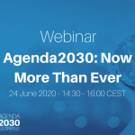 Agenda 2030: Now More Than Ever