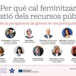 Generalitat de Catalunya's Webinar on the necessity to feminise the management of public resources