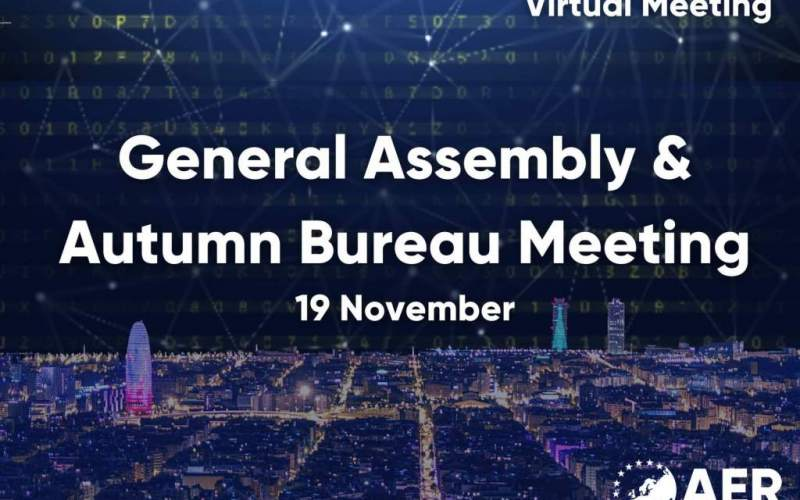 Wrap-Up: Highlights from the first virtual AER General Assembly, Bureau Meeting and Eurodyssey Forum