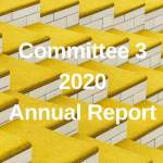Committee 3 Annual Report June 2019 – November 2020