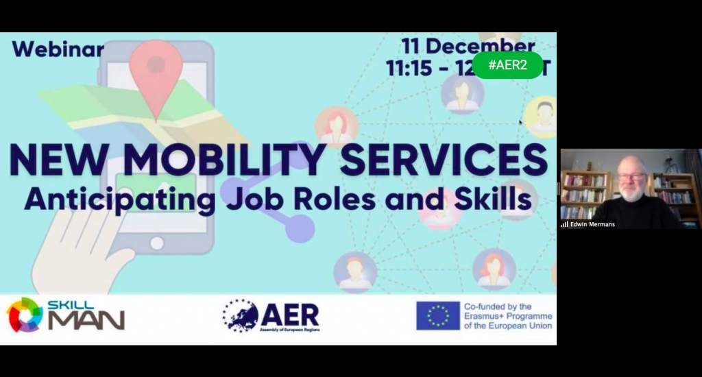 New mobility services: qualification profiles and skill needs