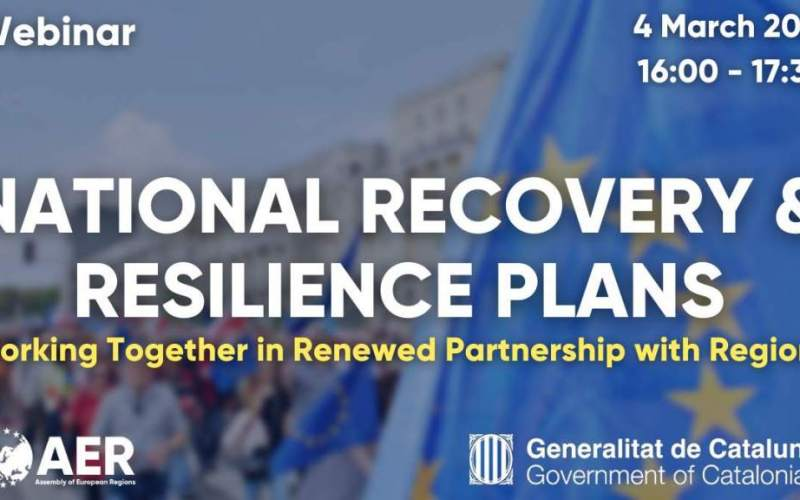 National Recovery & Resilience Plans – Working Together in Renewed Partnership with Regions
