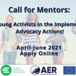 Call for Mentors: Support Young Activists in their Advocacy Actions!