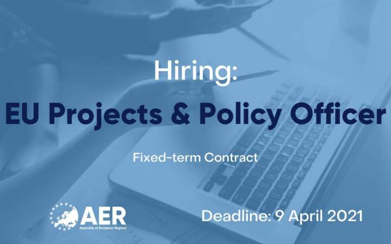 Job Vacancy: EU Projects & Policy Officer