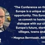 AER adopts Recommendations on the Conference on the Future of Europe