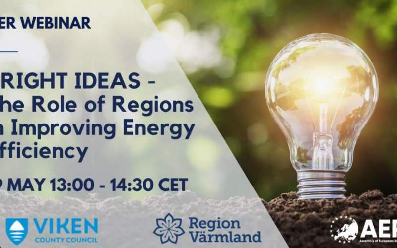 Registrations open! Bright Ideas- The Role of Regions in Improving Energy Efficiency