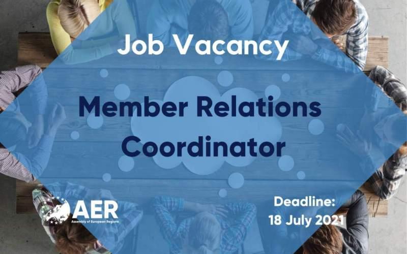 Job Vacancy: Member Relations Coordinator