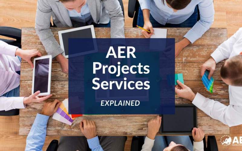 AER scales up its Project Unit! What's in it for our Member Regions? Our Services at a Glance