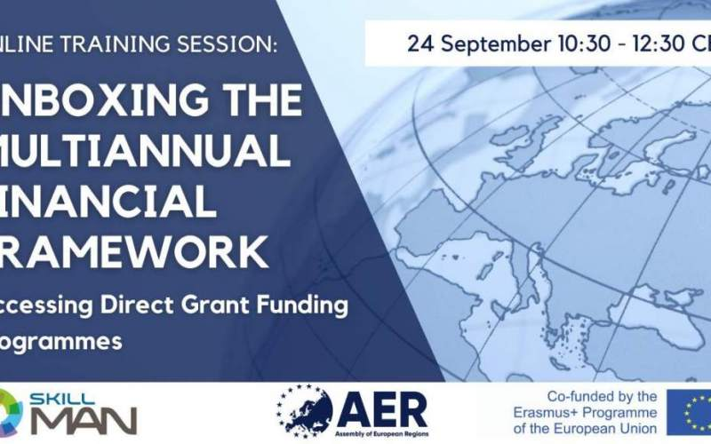 REGISTER NOW: Unboxing the MFF Session II — Accessing Direct Grant Funding Programmes